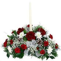 2753 - Xmas Flower Centrepiece