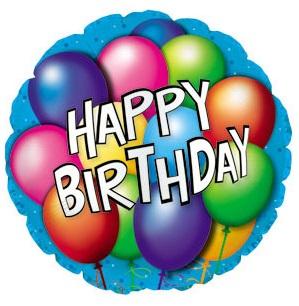 109 - Birthday Balloon