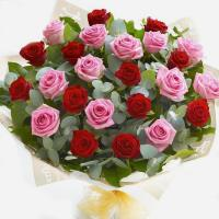 4368 - Pink and Red Roses