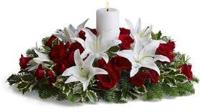 2751 - Christmas Flower Centerpiece