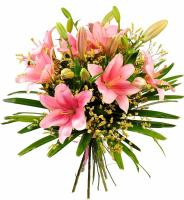 5627 - Pink Lily Bouquet