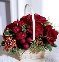 5087 - Festive Basket