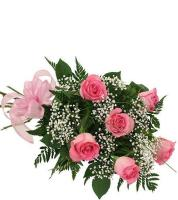 2520 - 6 Pink Roses