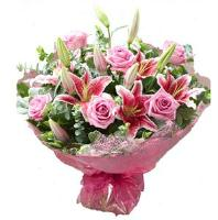 2684 - Roses And Liliums