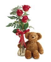 2769 - Teddy and Roses