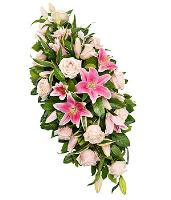 5598 - Pink Funeral Flowers