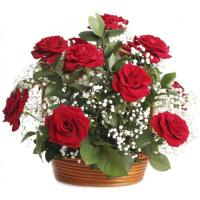2796 - Rose Basket