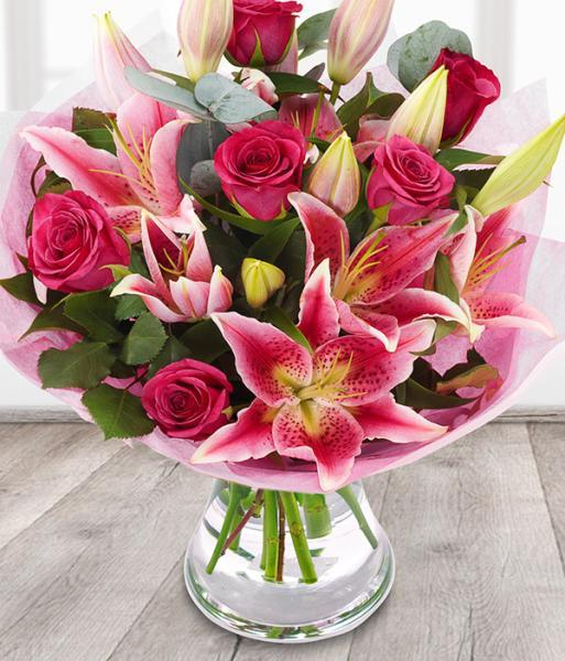 5643 - Pink Rose Lily